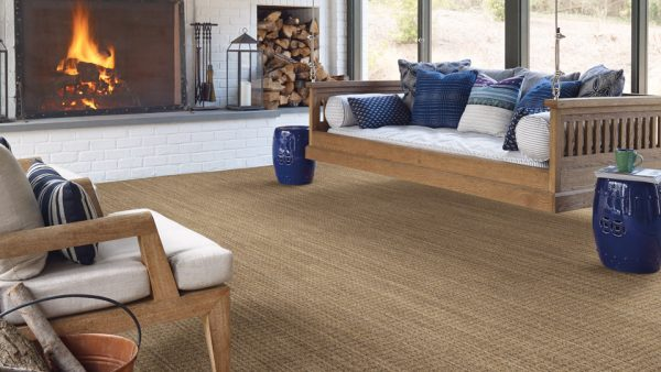 Shaw carpet - Natural Boucle