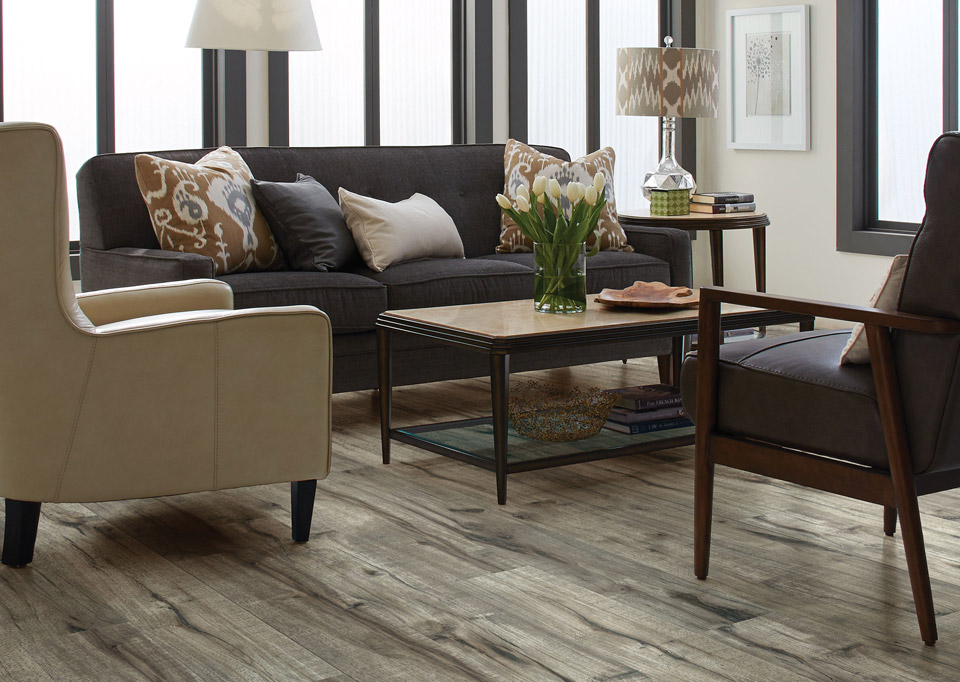 In Weathered Hickory Color By Shaw, Weathered Hickory Laminate Flooring