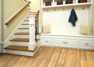 """Floorte Exquisite"" in Spiced Pine color by Shaw"