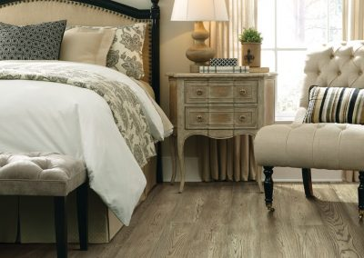 """Floorte Exquisite"" in Brightened Oak color by Shaw"