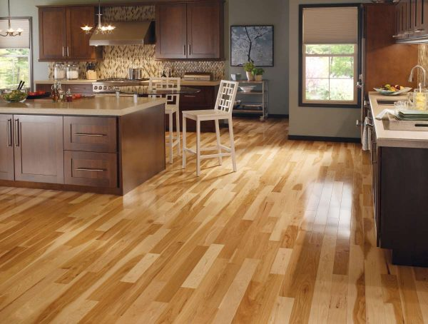 Columbus Ohio Hardwood flooring Hickory Natural Somerset Specialty